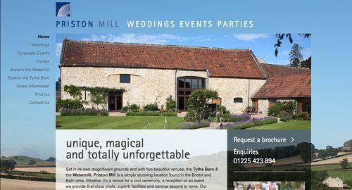 Priston Mill Website