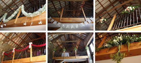 Tythe Barn Balcony