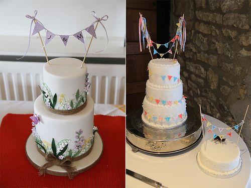 Bunting-cake