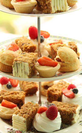Afternoon Tea - dessert on sharing menu